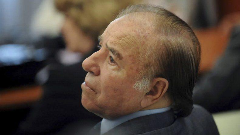 Carlos Saúl Menem fue condenado pero seguirá libre a raíz de su fuero parlamentario.