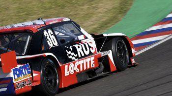 El Torino de Gustavo Micheloud que ayer logró el noveno tiempo en la primera clasificación del TC Pista.
