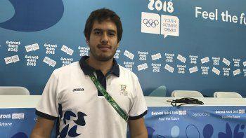Salvador Santos Rodríguez de Alemania a los Juegos Olímpicos de la Juventud