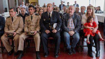 Con la presencia de invitados se celebró el Día Nacional de España en el Mesón Español.