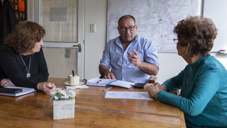 Servicios a la Comunidad tomó nota de las necesidades del barrio Mosconi