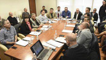 La reunión del consejo consultivo de servicios públicos de Chubut.