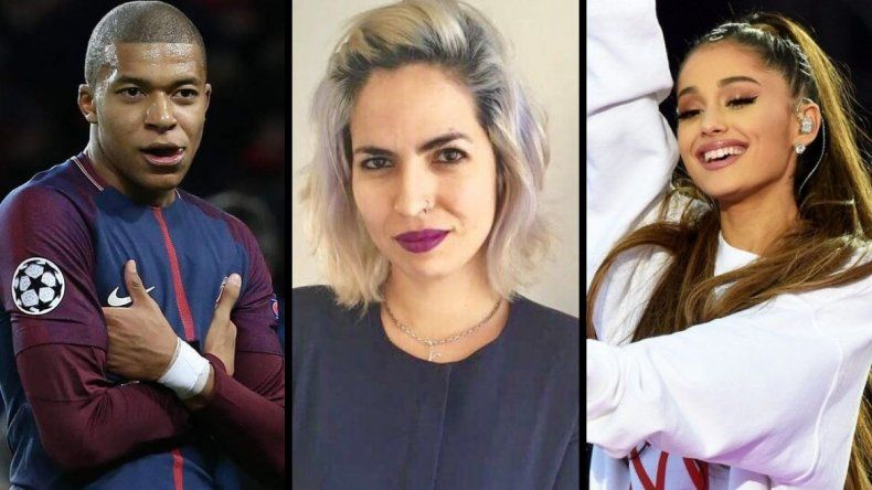 Feminista argentina reconocida junto a Mbappé y Ariana Grande