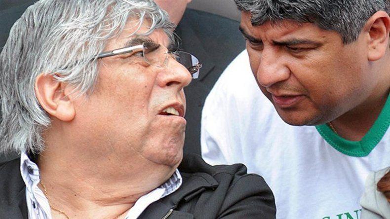 Hugo Moyano alega que el Gobierno de Mauricio Macri busca tapar el escándalo del cobro retroactivo del gas con el pedido de detención de su hijo.