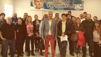 Convocados por el presidente de la Comisión de Fomento de Cañadón Seco, Jorge Soloaga, volvió a reunirse con representantes de varias instituciones.