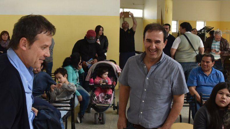 El acto del viernes fue presidido por el articulador para la zona norte del Ministerio de Salud y Desarrollo Social de la Nación