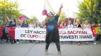 Una marcha por los crímenes de odio contra trans y travestis