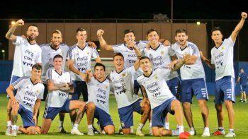 la seleccion argentina se prueba ante brasil