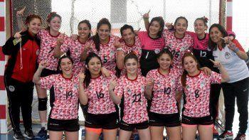 palazzo y nueva generacion, campeones provinciales de handball