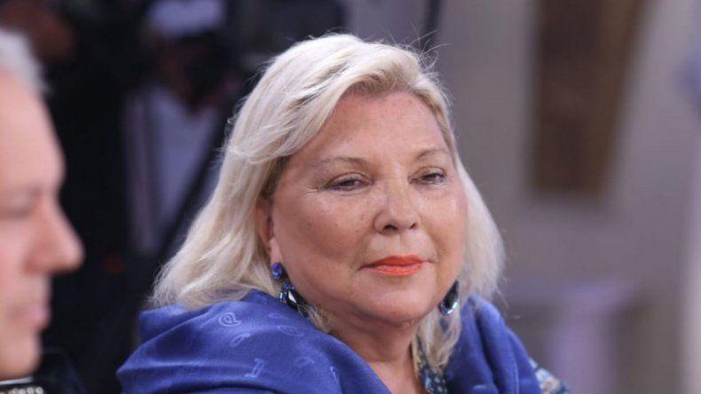 Carrió presentó el pedido de juicio político contra Garavano