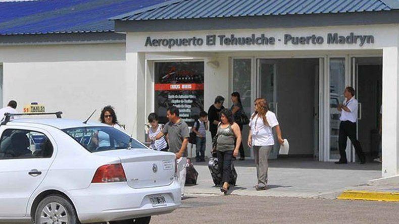 El aeropuerto de Madryn recibió a un 135% más de pasajeros que en 2017