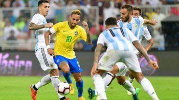 argentina perdio el partido contra brasil en el ultimo minuto