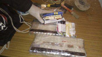 Durante el operativo se secuestró gran cantidad de droga.