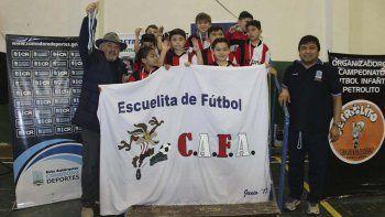 Los chicos del CAFA se quedaron con el campeonato en la categoría 2009.