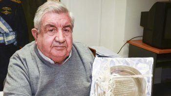 Víctor Gamboa tendrá un homenaje en el Día de la Lealtad.
