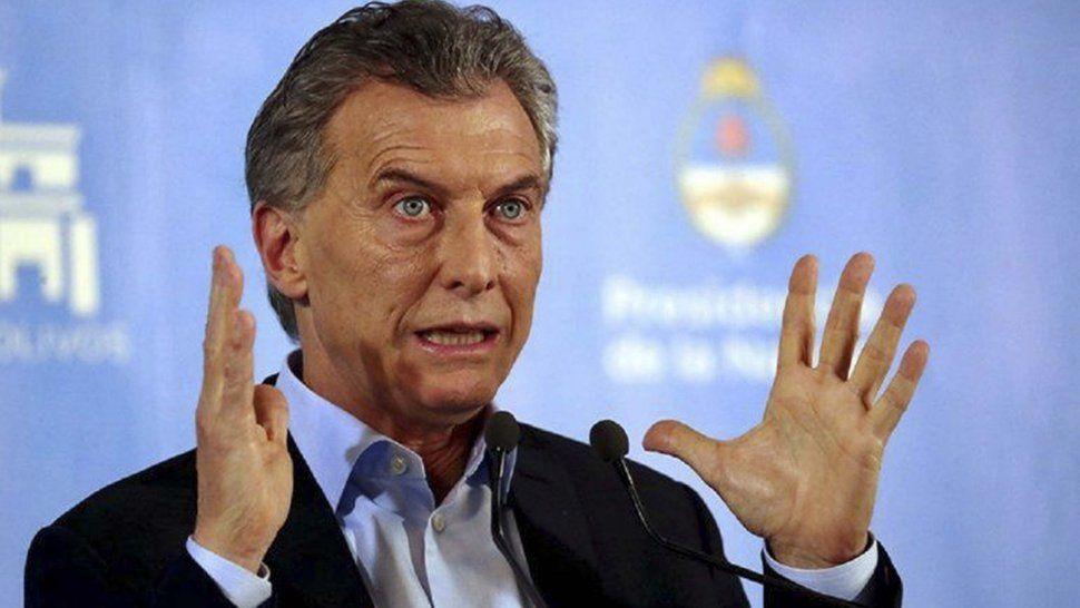 Hasta anoche se desconocía la hora exacta en que Mauricio Macri aterrizaría en el aeropuerto Mosconi.