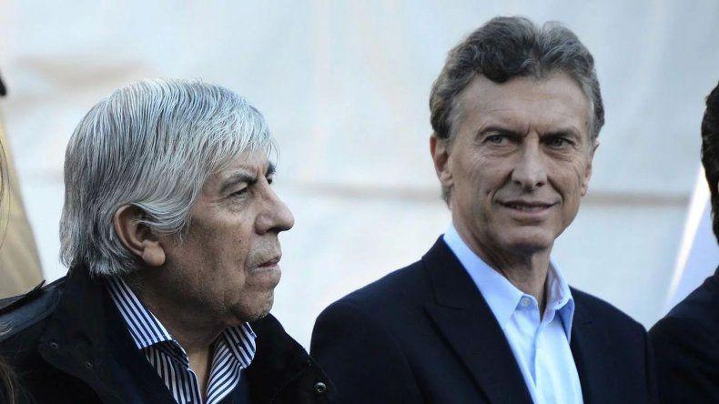 Macri apuntó contra Moyano desde Comodoro