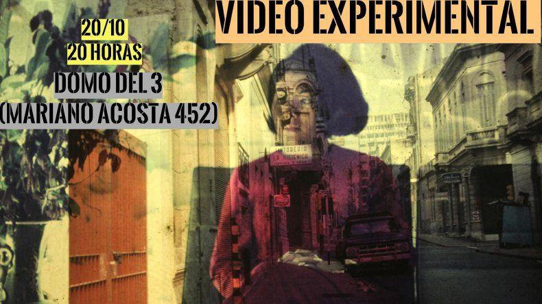 Primer encuentro de Video Experimental en Comodoro