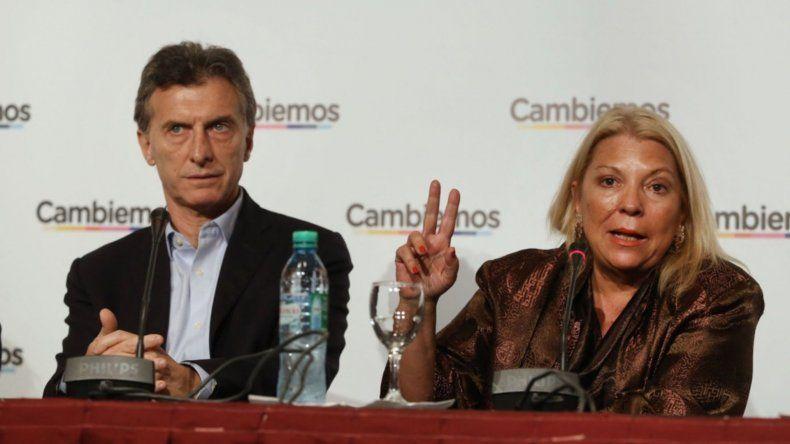 Carrió volvió a desafiar a Macri: si se cansa me puede echar