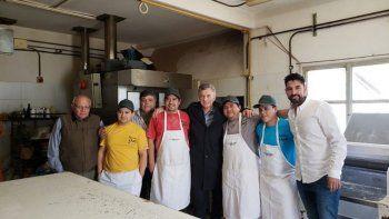El panadero que recibió a Macri: el país no está bien y la realidad nos afecta a todos
