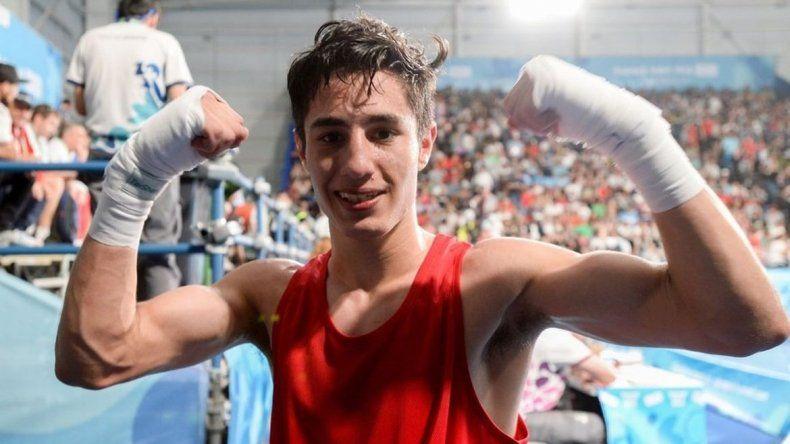 Mirco Cuello le dio la segunda medalla al boxeo argentino