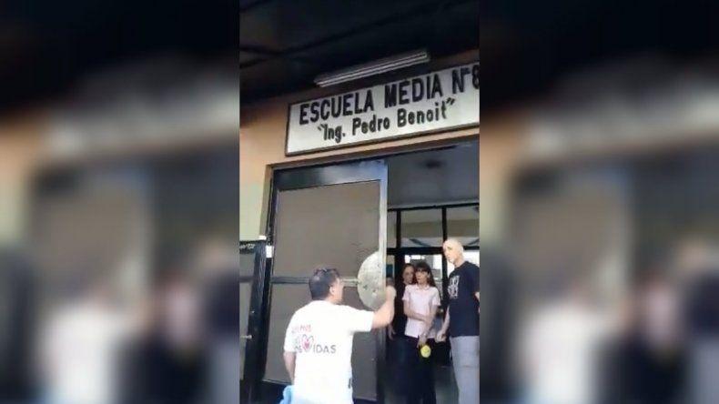 Padres pro vida protestaron con violencia contra la ESI