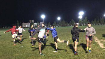 En el primer entrenamiento se evaluó la condición física de la mayoría de los convocados. De ahora en adelante, se intensificarán las prácticas.