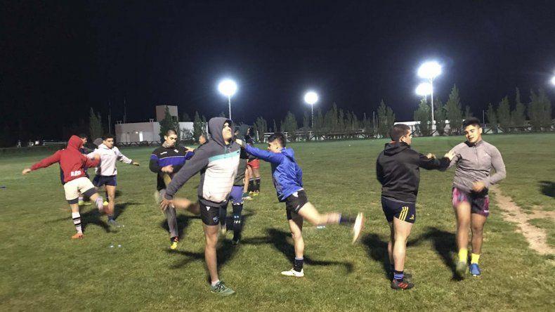En el primer entrenamiento se evaluó la condición física de la mayoría de los convocados. De ahora en adelante