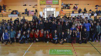La delegación de los deportistas está lista para emprender el viaje a Mar del Plata.