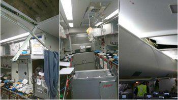 una intensa turbulencia causo 15 heridos en un vuelo