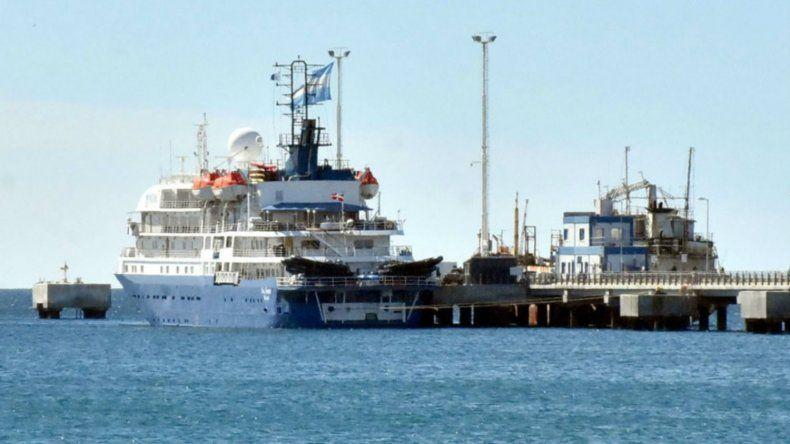 Hoy arranca la temporada de cruceros en Puerto Madryn