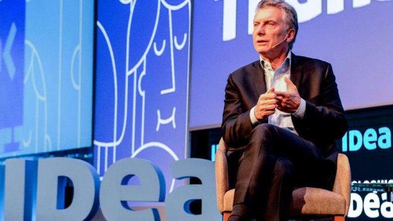 Macri insistió con la necesidad de avanzar hacia una flexibilización laboral