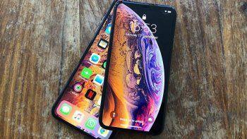 el iphone xs max ya se consigue en la argentina, pero cuesta mas de $87 mil