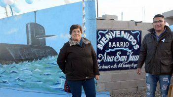 un barrio lleva el nombre ara san juan, 44 heroes argentinos