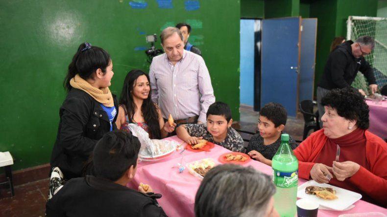 El intendente Carlos Linares destacó que se trató de un festejo que congregó a la comunidad.