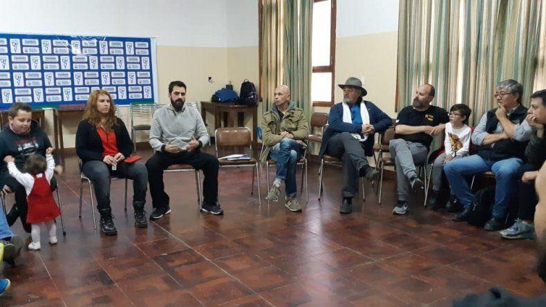 La reunión del CePeDe con dirigentes deportivos se llevó a cabo el último viernes en Huergo.