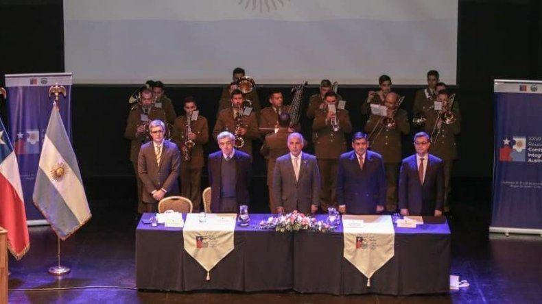 Chubut será en 2019 sede de la reunión del Comité  de Integración Austral entre Argentina y Chile