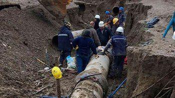 Suspenden el bombeo de agua del nuevo acueducto