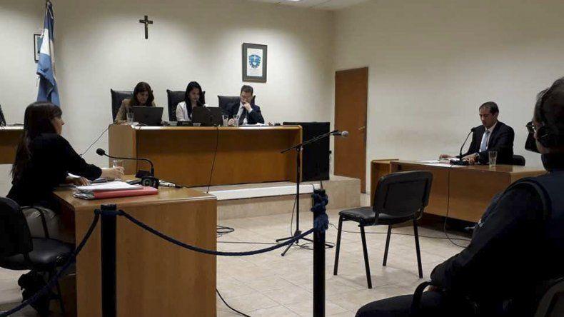 La audiencia en la que se dio a conocer la pena que deberá cumplir el condenado.