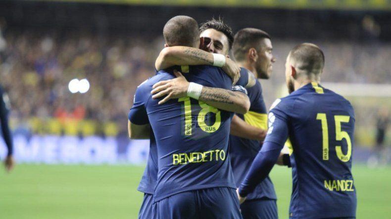 Boca venció a Palmeiras 2-0 y sueña con meterse en la final