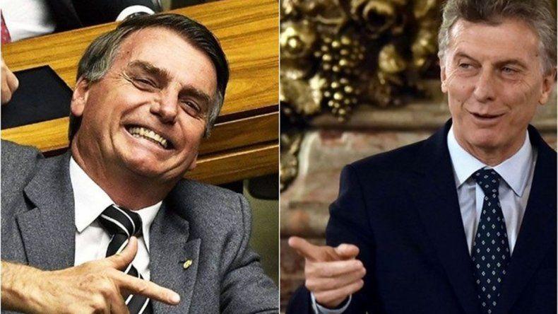 Bolsonaro promete una muy buena relación y óptima alianza con Macri