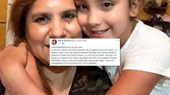 El dolor de la abuela de la nena asesinada: voy a vengar tu muerte