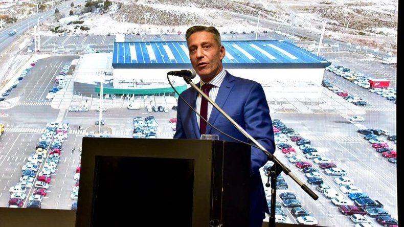 Arcioni destacó el potencial del puerto de Comodoro