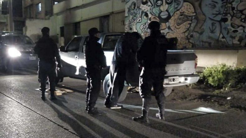 La policía secuestró droga a partir de un control de identificación de personas.