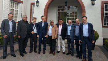 Dirigentes chubutenses se reunieron con Macri para habilitar la minería