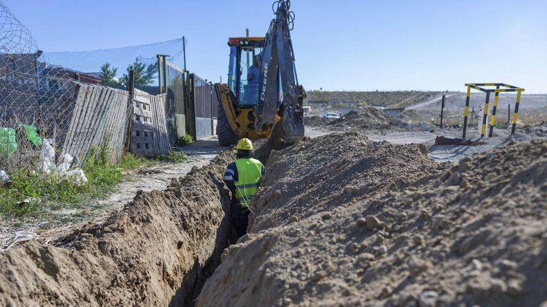 Las obras benefician a habitantes de diversos barrios.