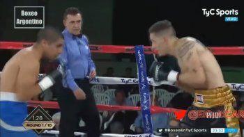 Aguirre noqueó a Coggi con un latigazo