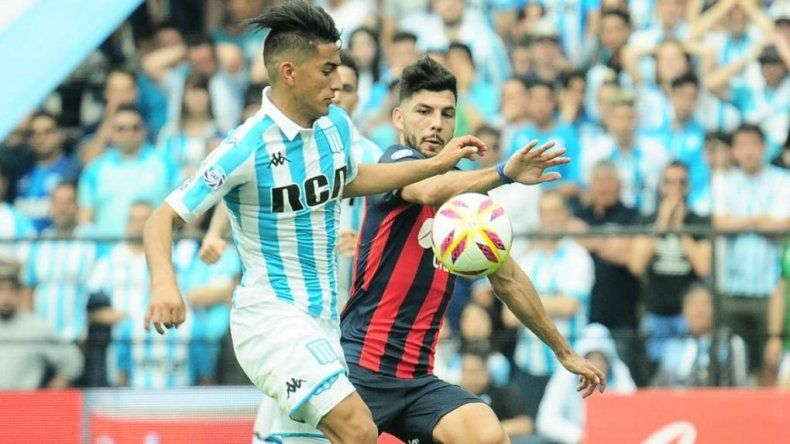 Racing le ganó a San Lorenzo y amplió su ventaja como líder de la Superliga