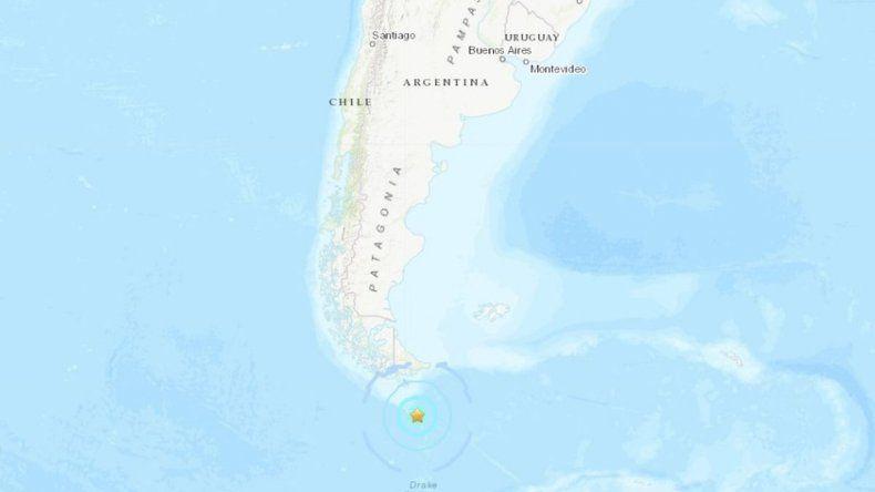 Un fuerte sismo alertó a todos en Ushuaia