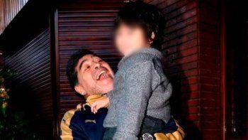 El tierno video de Dieguito Fernando por el cumpleaños de Maradona
